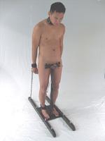 Bondage genital male can