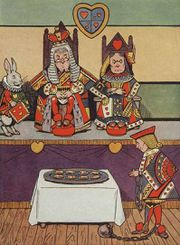 027-color-king-and-queen-of-hearts-rabbit-jack-in-ball-and-chain-cookies-table-cloth-public-domain.jpg